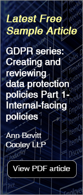 Free Sample Article - Privacy & Data Protection