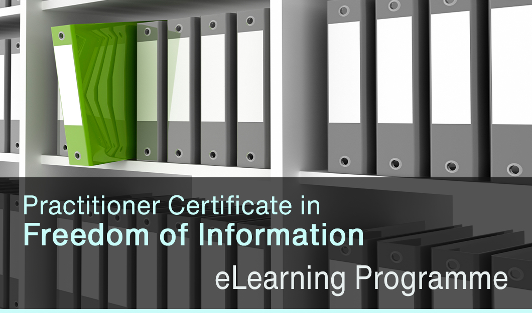 Practiitoner Certificate in Freedom of Information