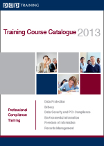 PDP Training 2013 Course Catalogue
