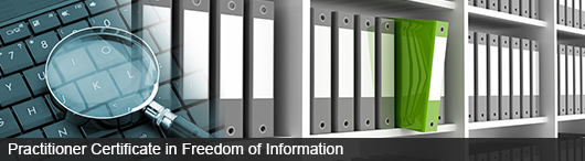 Practitioner Certificate in Freedom of Information